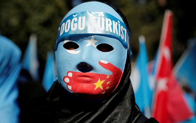 Uighurs have been placed in 're-education' camps - REUTERS/Huseyin Aldemir/File Photo