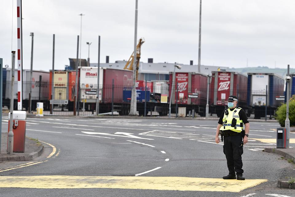 The Northern Ireland Protocol avoids a hard border in Ireland  (Getty Images)