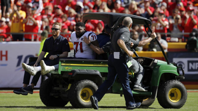 4 injuries that could really hurt the Texans