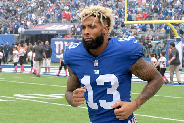 Odell Beckham sounds ready to embrace his new surroundings. (AP)