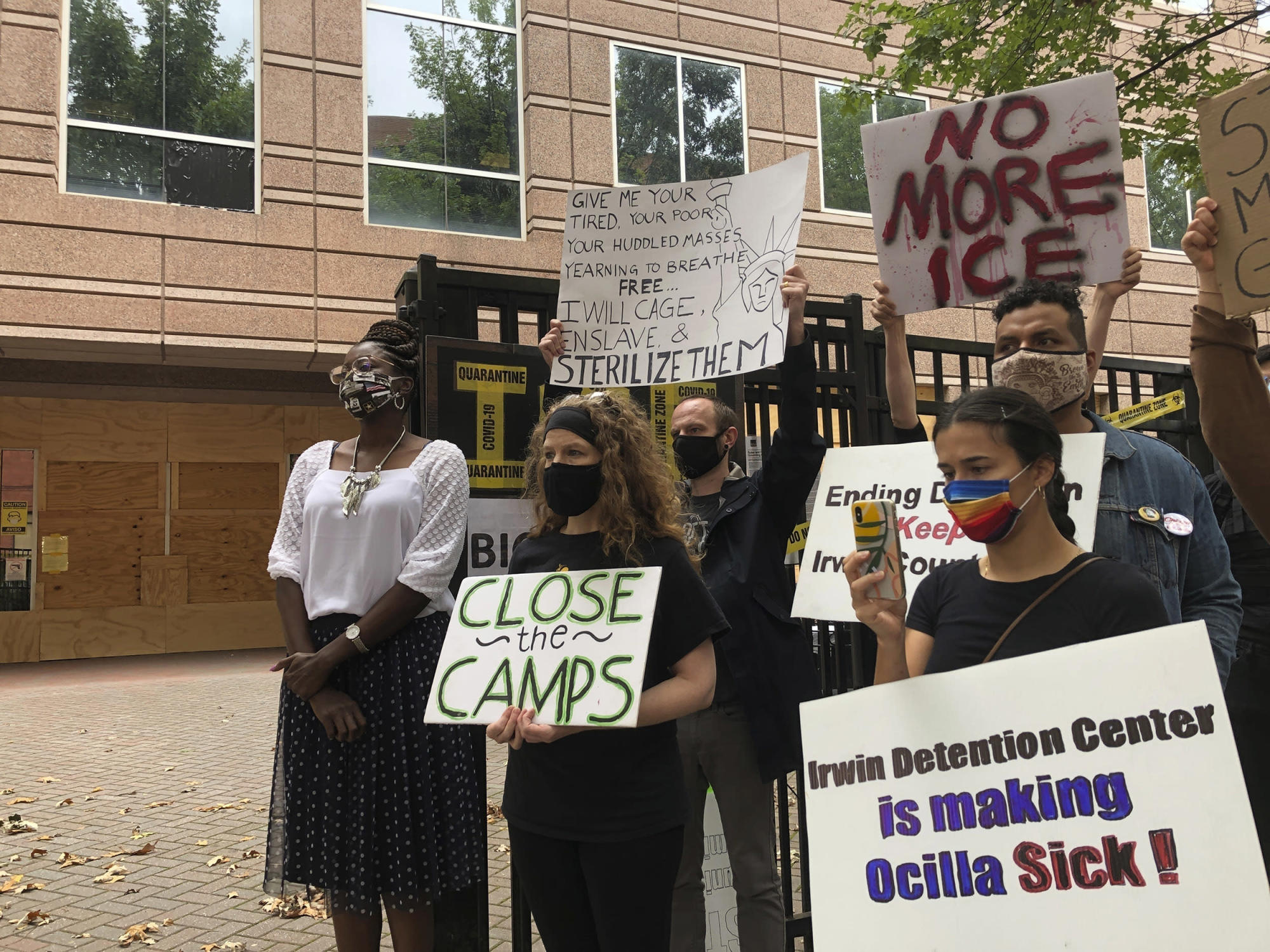 U.S. deports migrant women who alleged abuse by Georgia doctor
