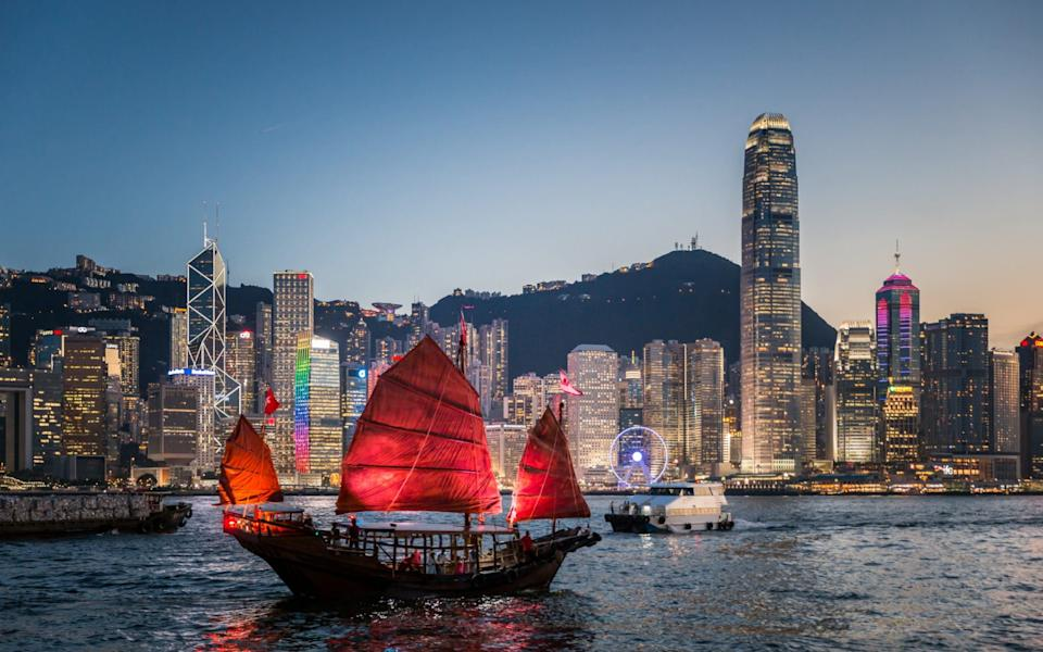 Victoria Harbour, Hong Kong  - Getty