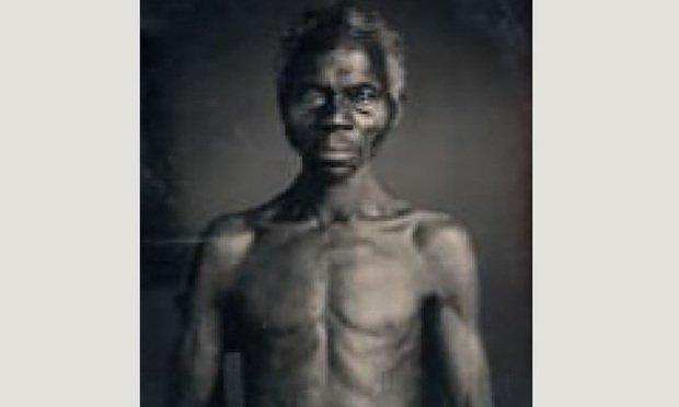 This photo of Renty, an enslaved African man, was taken in South Carolina in 1850 and is the subject of a lawsuit against Harvard University by Tamara Lanier, his direct descendant. Lanier is seeking possession of this photo and one other similar photo.