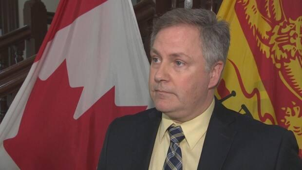 Saint John East MLA and house leader Glen Savoie announced he'll introduce a motion to let some MLAs participate in regular sittings using Zoom. (Radio-Canada file photo - image credit)