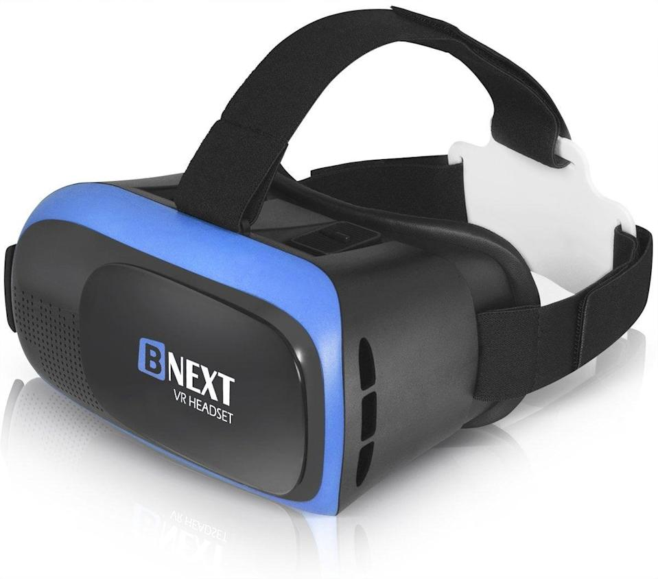 <p>Join the virtual reality world with <span>VR Headset Compatible with iPhone &amp; Android Phone</span> ($40). Insert a phone and start playing video games or watching movies - all, of course, in a virtual reality experience.</p>
