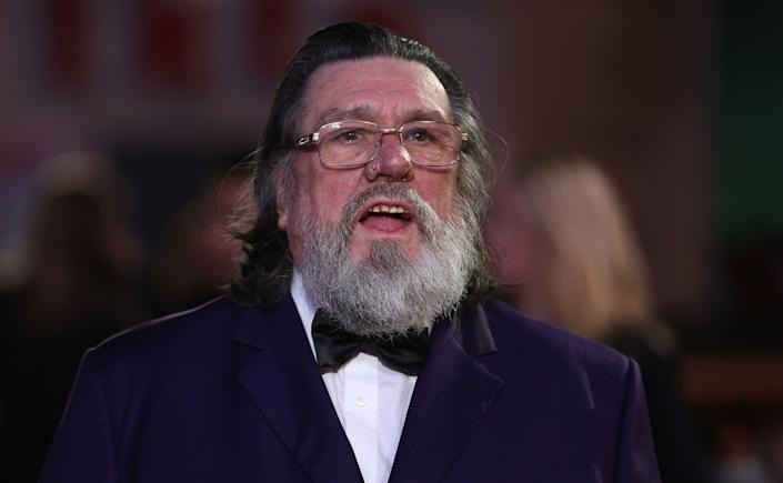 Ricky Tomlinson has shared that he's lost one of his brother to the coronavirus. (AFP / JUSTIN TALLIS via Getty Images)