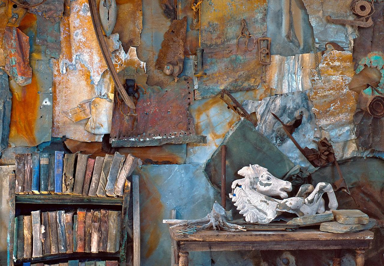 <p>Rosamond Purcell's studio. (Photograph by Rosamond Purcell/Courtesy of BOND/360) </p>