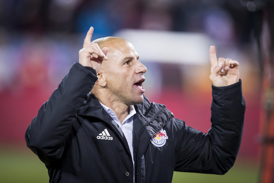 Can Chris Armas lead New York Red Bulls to the continental crown? (Getty)