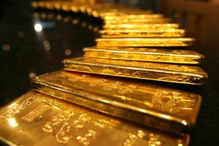 Gold prices were trading lower on Thursday