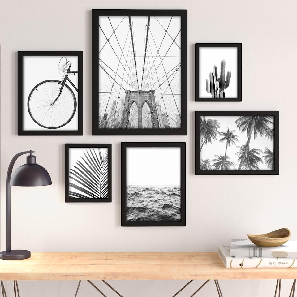 <p><span>By Sisi and Seb 6-Piece Picture Frame Photographic Print Set</span> ($180, originally $199)</p>