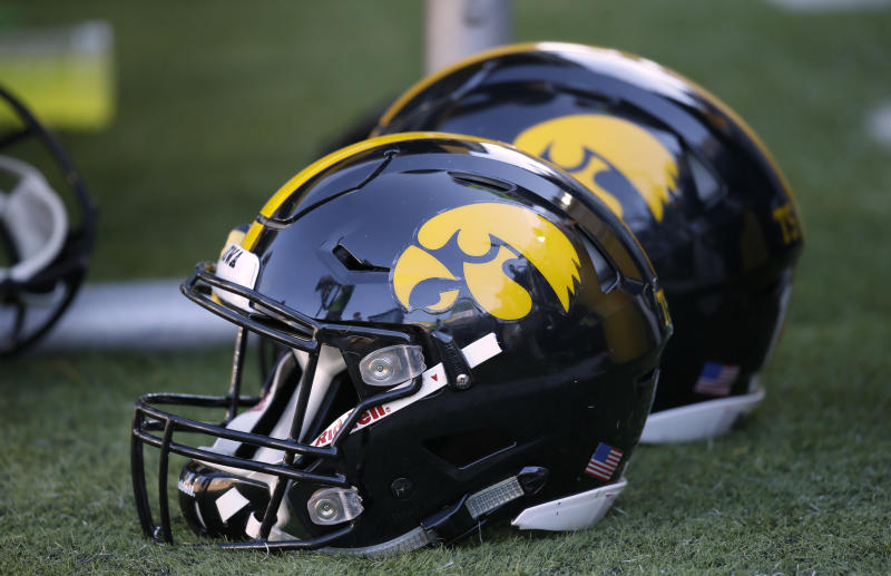 Iowa strength coach Chris Doyle released a statement Sunday that said he's never made racist comments or been racially biased in his time with the school. (AP Photo/Charlie Neibergall)
