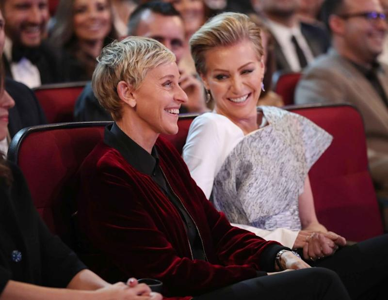 Ellen DeGeneres, who is married to Aussie actress Portia De Rossi, led the congratulations on social media saying was