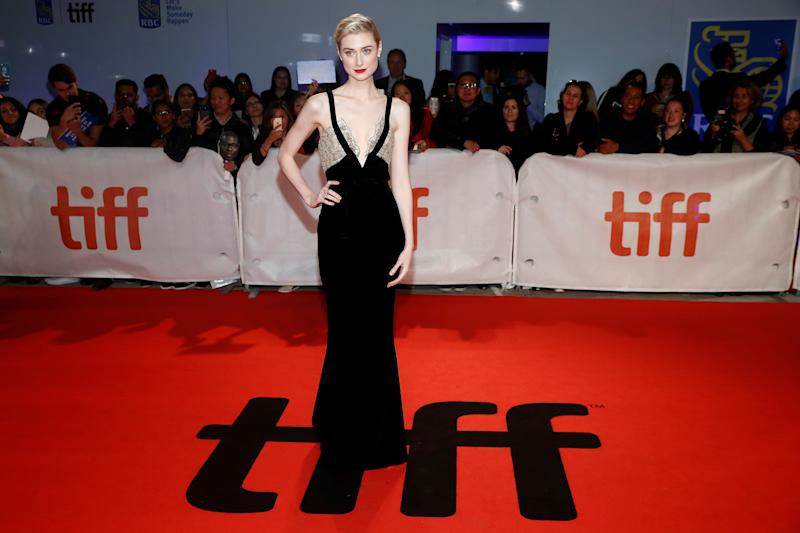 Actor Elizabeth Debicki arrives for the world premiere of Widows at the Toronto International Film Festival (TIFF) in Toronto, Canada, September 8, 2018. REUTERS/Mark Blinch