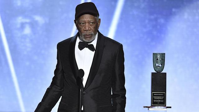 Morgan Freeman (Credit: Rex)