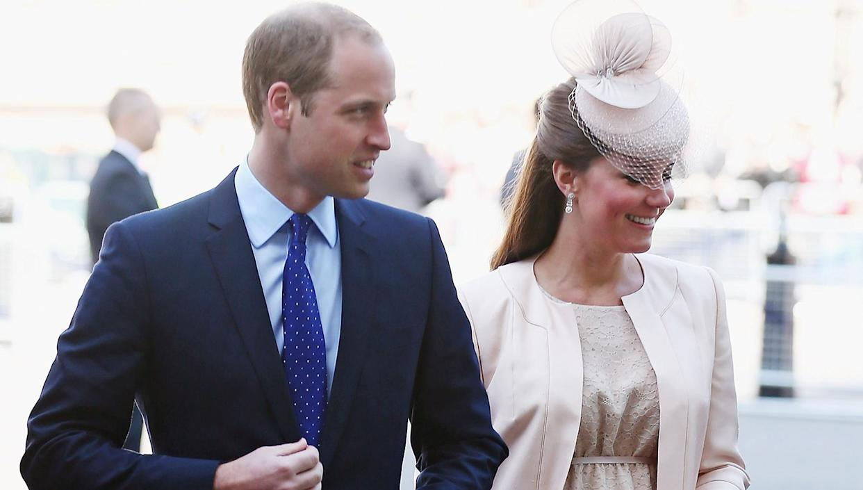 Kate Middleton's Baby Bump On Display at the Queen's Coronation