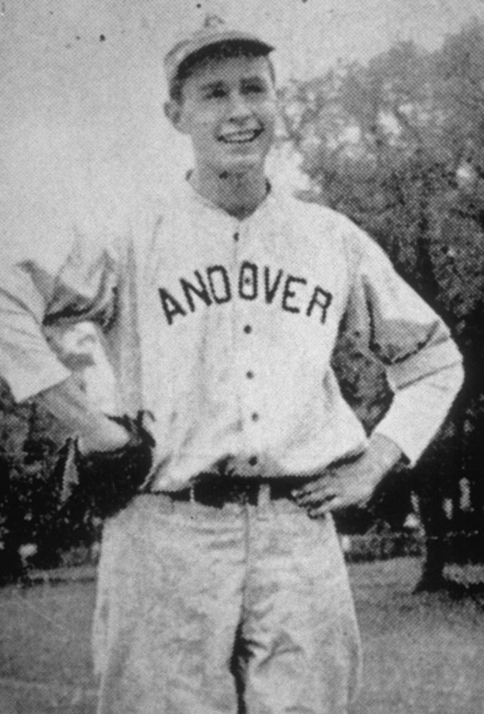 <p>George Bush at Andover in 1941; Philips Academy yearbook, Andover, Mass. (Photo: Corbis) </p>