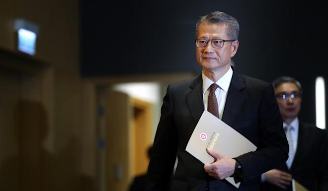 Paul Chan warned that unemployment figures were likely to increase. Photo: Winson Wong