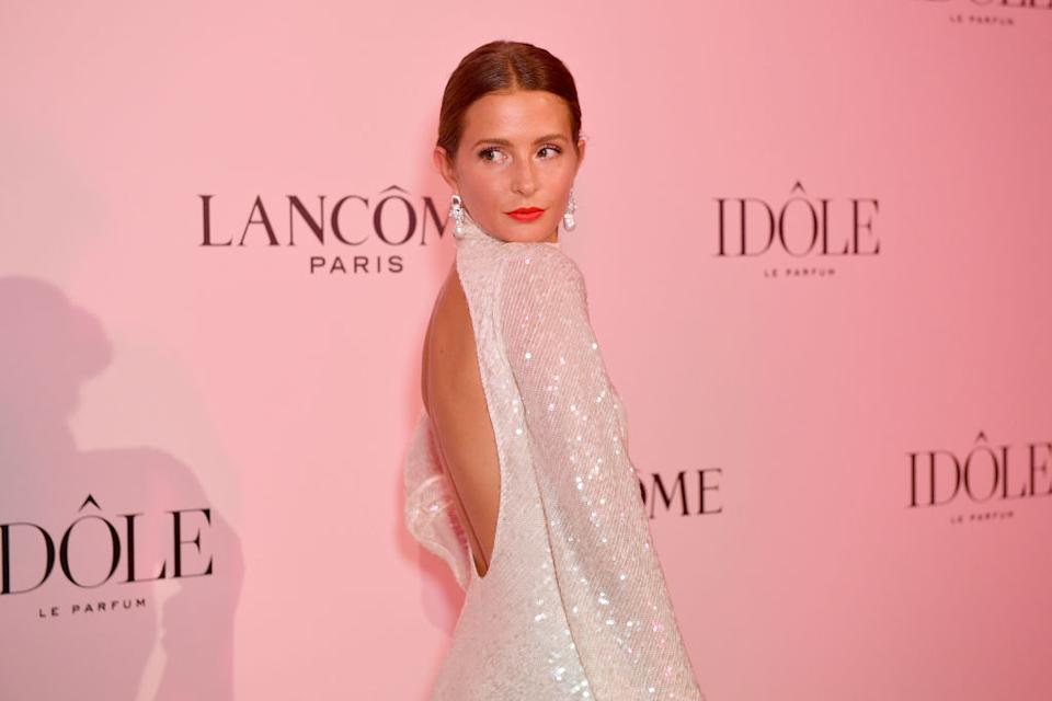 Millie Mackintosh has revealed she had to learn to love her postpartum body, pictured in July 2019. (Getty Images)