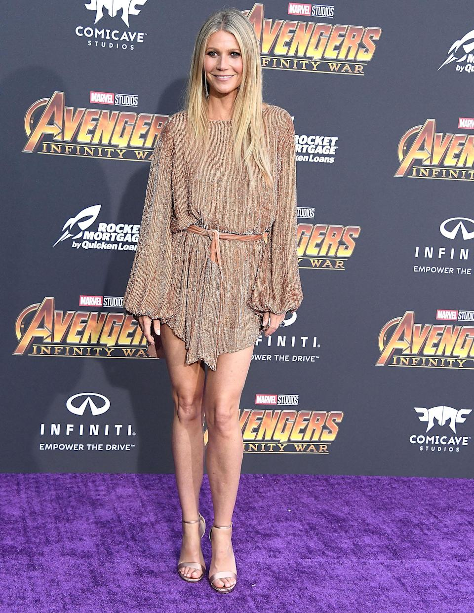<p>Wearing Retrofête and Jimmy Choo shoes. (Photo: Getty Images) </p>