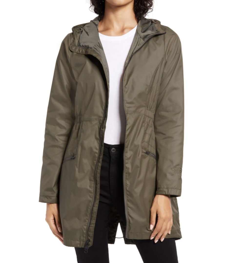 Rissy 2 Hooded Water Repellent Raincoat - The North Face, Nordstrom, $90 (originally $120)
