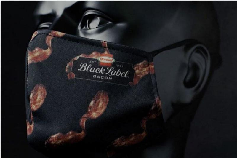 US Company is Giving out Bacon-scented Face Masks to Raise Funds for Food Donation
