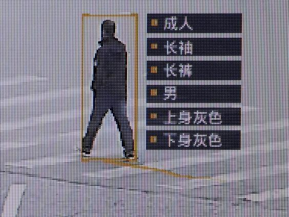 Surveillance systems in China have become highly advanced in recent years (Reuters)