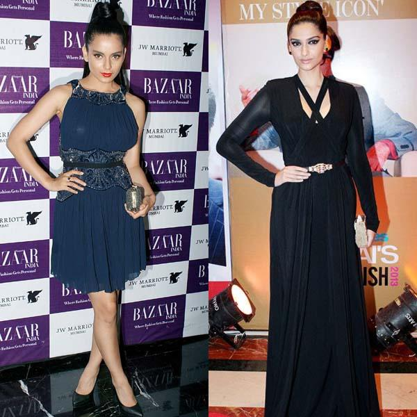 When you think about style icons in Bollywood, two prominent names come to mind Sonam Kapoor and Kangana Ranaut. While Sonam's style is more classic, Kangana is more edgy.