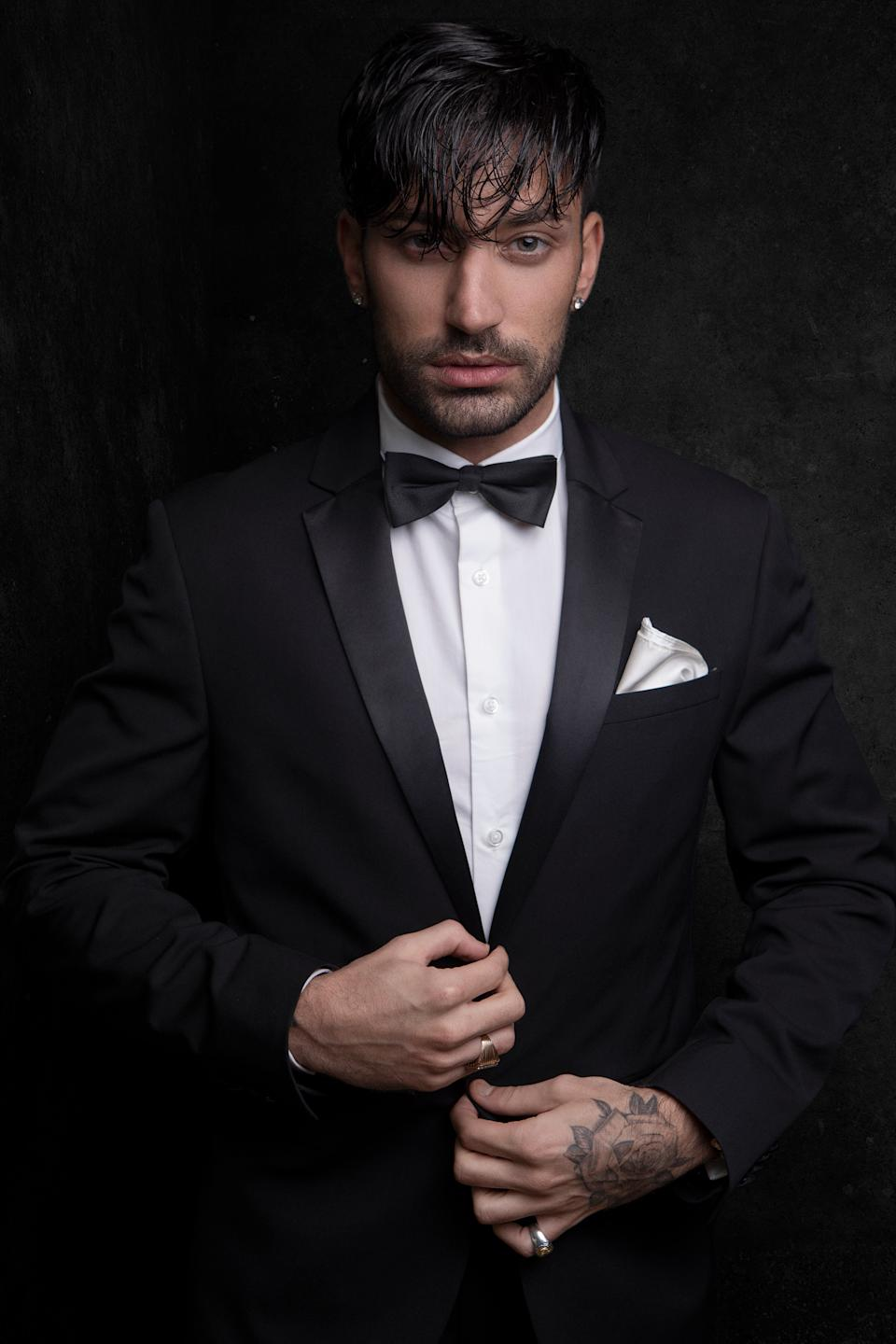 Giovanni Pernice is firmly focused on dancing.