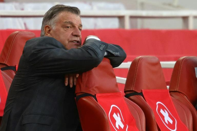Relegated - West Brom manager Sam Allardyce looks on during a 3-1 loss to Arsenal that condemned the Baggies to the drop