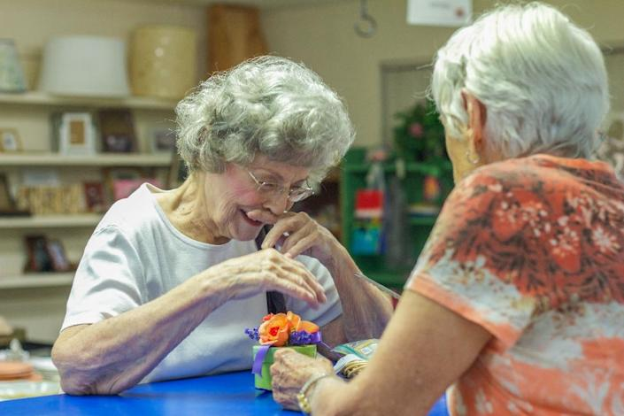 """""""Epidemiological studies show that people with a lifetime of cognitively stimulating activities and social connections are much less at risk for cognitive decline as they age,"""" says University of Miami neuropsychologist David Loewenstein (AFP Photo/Federica Narancio)"""