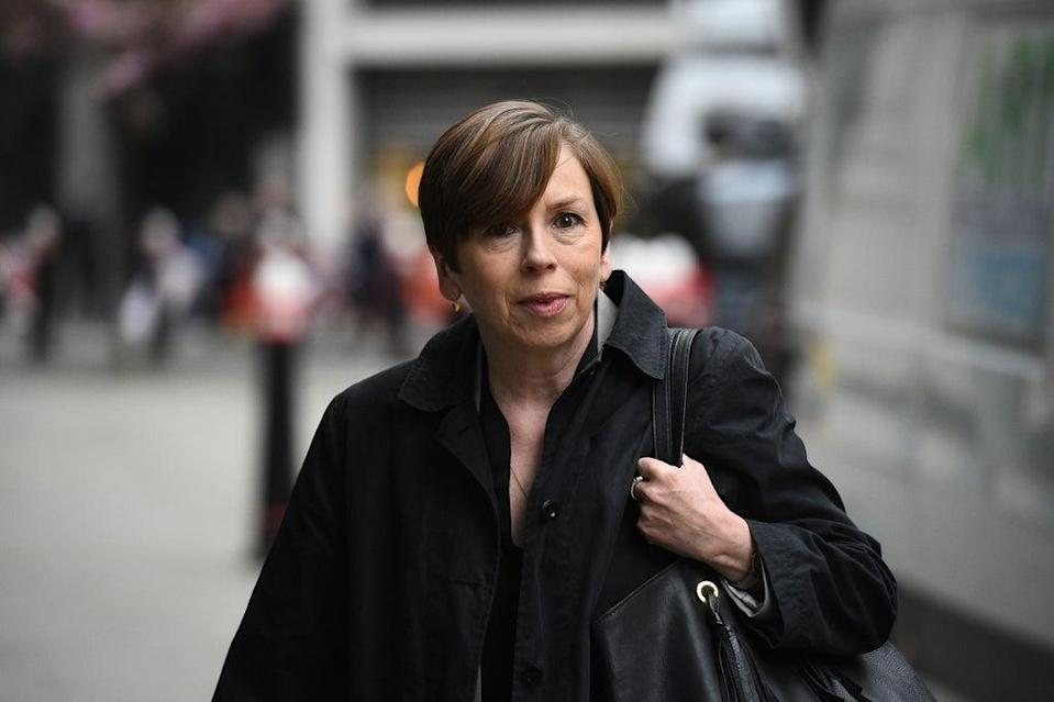 Fran Unsworth will step down as director of news and current affairs at the BBC at the end of January 2022, the corporation has announced (Kirsty O'Connor/PA) (PA Archive)