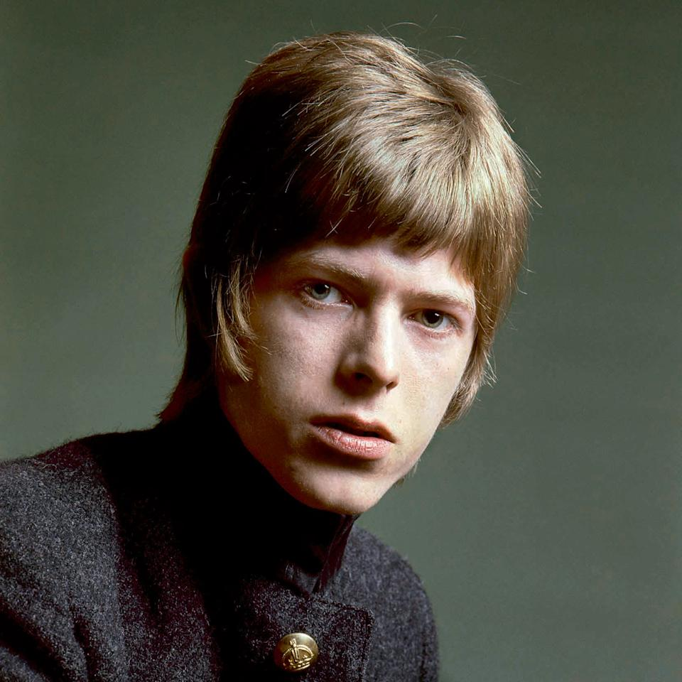 David Bowie poses for a photoshoot for his self-titled debut album, London, UK, 1967Gerald Fearnley