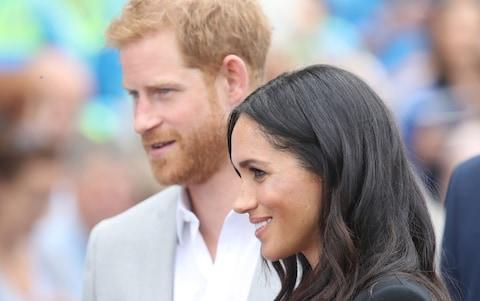 <span>The Duke and Duchess of Sussex in Ireland</span> <span>Credit: getty images </span>
