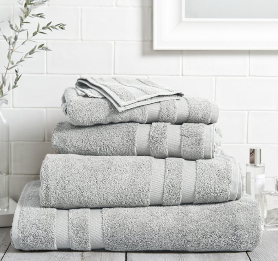Shoppers have hailed The White Company's Classic Double Border Towels as
