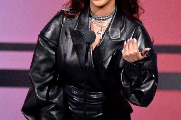 <p>Rihanna aux BET Awards à Los Angeles le 23 juin 2019</p>