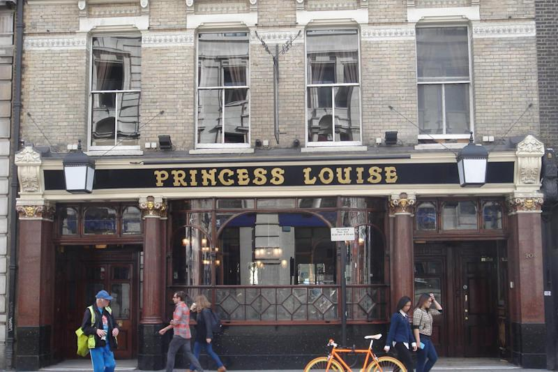 The Princess Louise: Better watch what you say when you're inside