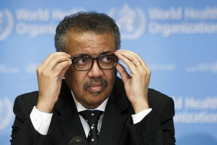 <p>WHO head, Dr. Tedros Adhanom Ghebreyesus (Photo courtesy of the Associated Press)</p>