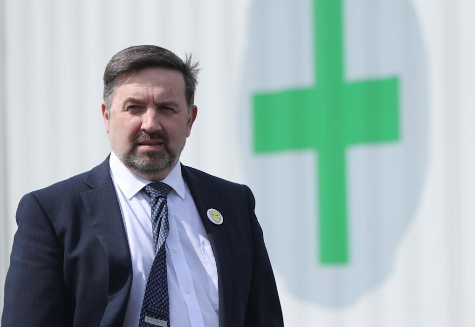 Northern Ireland Health Minister Robin Swann has insisted a decision on abortion services must be taken by the wider Executive (Niall Carson/PA) (PA Wire)