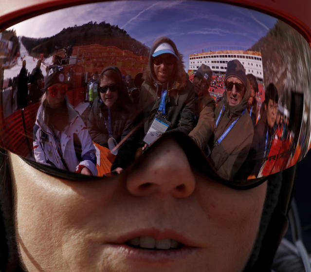 All eyes are on Mikaela Shiffrin, seeking answers. (AP)
