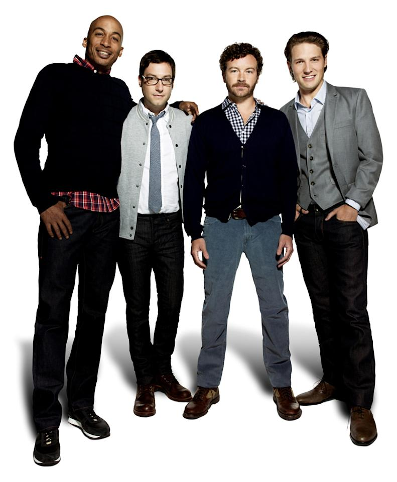 <p><b>Men at Work</b> (Thursday, 5/24 on TBS)<br><br> Danny Masterson, James Lesure, Michael Cassidy, and Adam Busch are co-workers at a magazine (how very quaint), and they discuss their dating lives and try to understand women. Good cast, but honestly, could it be more sitcom-y? </p>