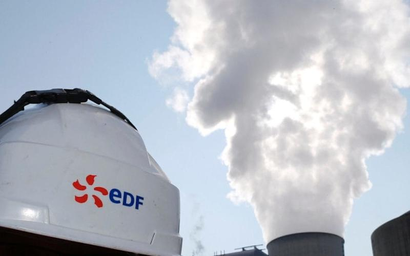 EDF said energy consumption fell in the UK last year