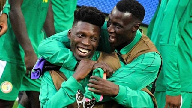 Senegal record the first African win at the 2018 World Cup when they beat Poland 2-1 thanks to a deflected Thiago Cionek own goal and a terrible error by Polish 'keeper Wojciech Szczesny.