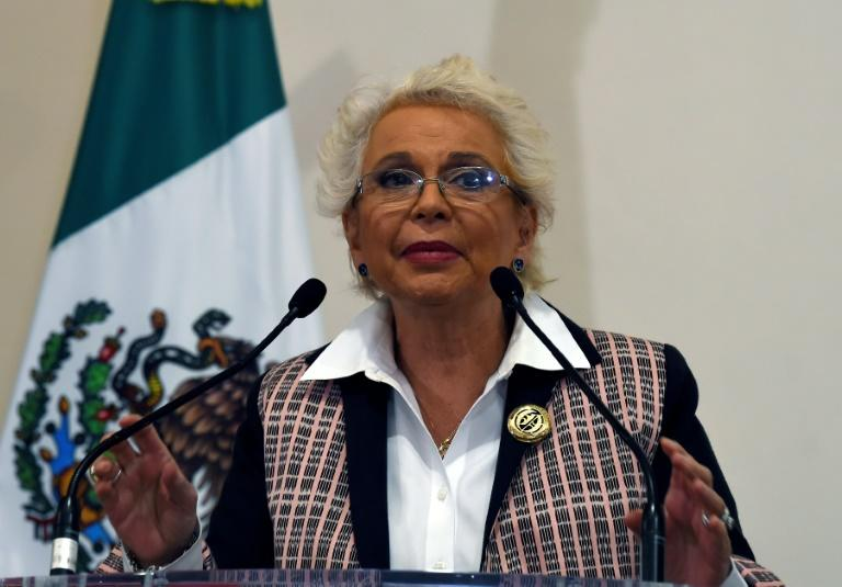 """Mexican Interior Minister Olga Sanchez, pictured, publicly apologized to former Marxist guerrilla Martha AliciaCamacho for her torture by the army during Mexico's """"Dirty War"""" in the 1970s"""