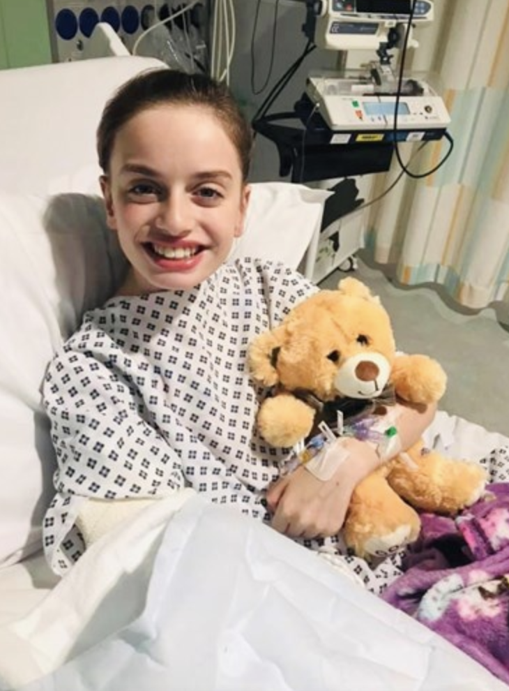 Talented dancer, Vienna, 12, had her arm amputated following a trampoline accident. Source: JustGiving