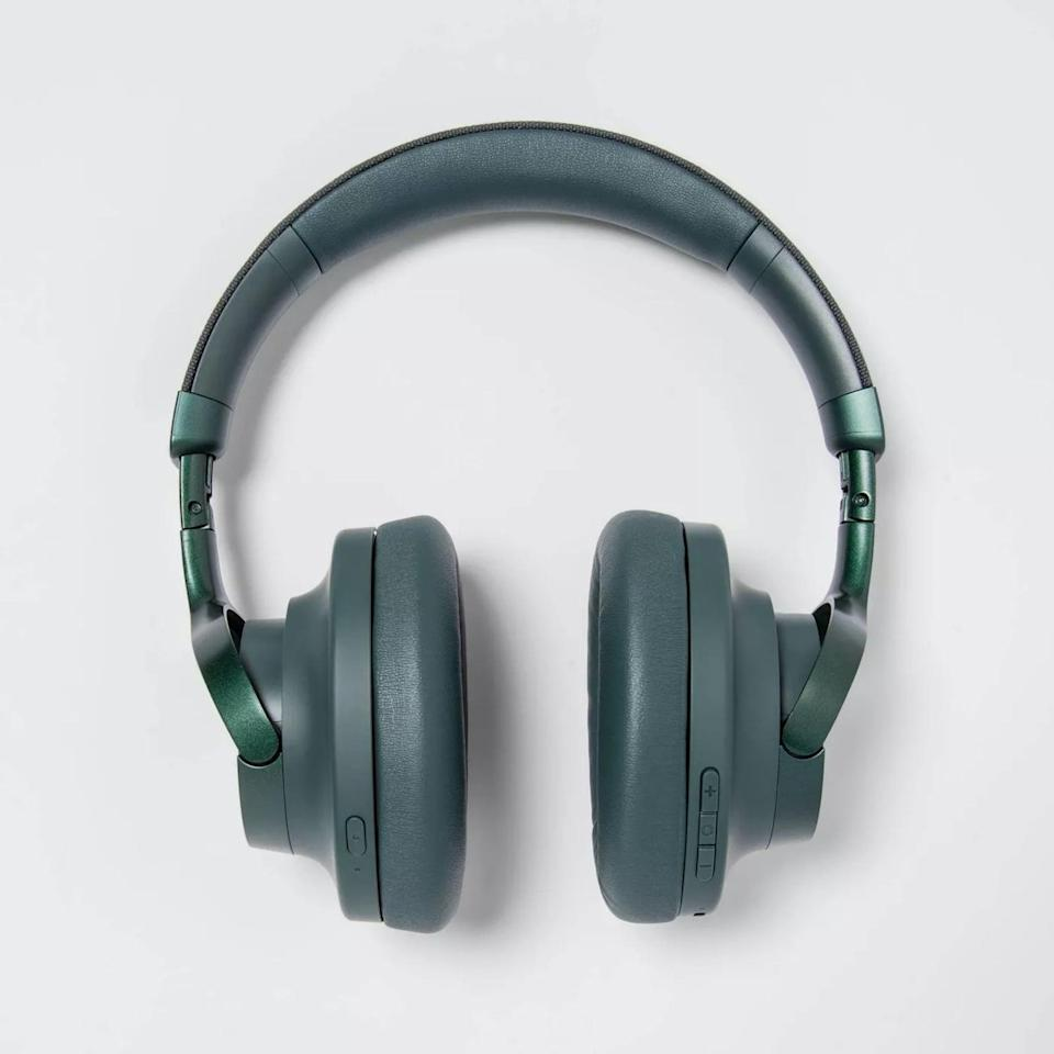 <p>Treat yourself to these chic <span>Heyday Active Noise Canceling Over-Ear Headphones</span> ($80).</p>