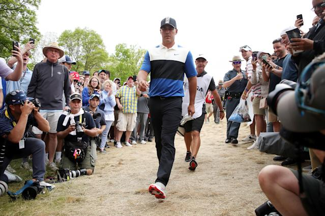 PGA Championship 2019: Brooks Koepka on 'DJ' chants from Bethpage crowd: 'To be honest, they helped'