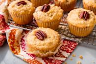 "<p>Homemade muffins are so much better than anything at your corner cafe. From classics like blueberry to more elaborate ones like French toast, there are tons to choose from. For even more delish breakfast baked goods, check out our <a href=""https://www.delish.com/cooking/recipe-ideas/g2784/most-delish-banana-bread/"" rel=""nofollow noopener"" target=""_blank"" data-ylk=""slk:banana breads"" class=""link rapid-noclick-resp"">banana breads</a>.</p>"