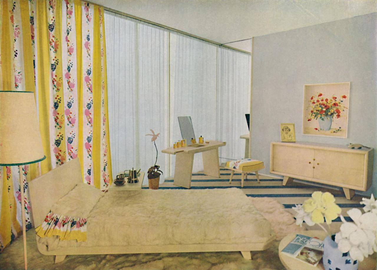 <p>Bedroom design in the 1930s took a muted turn, with homeowners tapping into softer hues such as yellow and pale green. The arrival of the Great Depression also meant people had less to spend. </p>