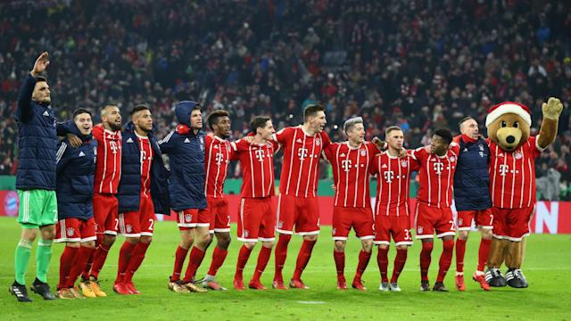Bayern Munich played RB Leipzig and Borussia Dortmund en route to the DFB-Pokal last eight, but avoided a top-flight opponent this time.
