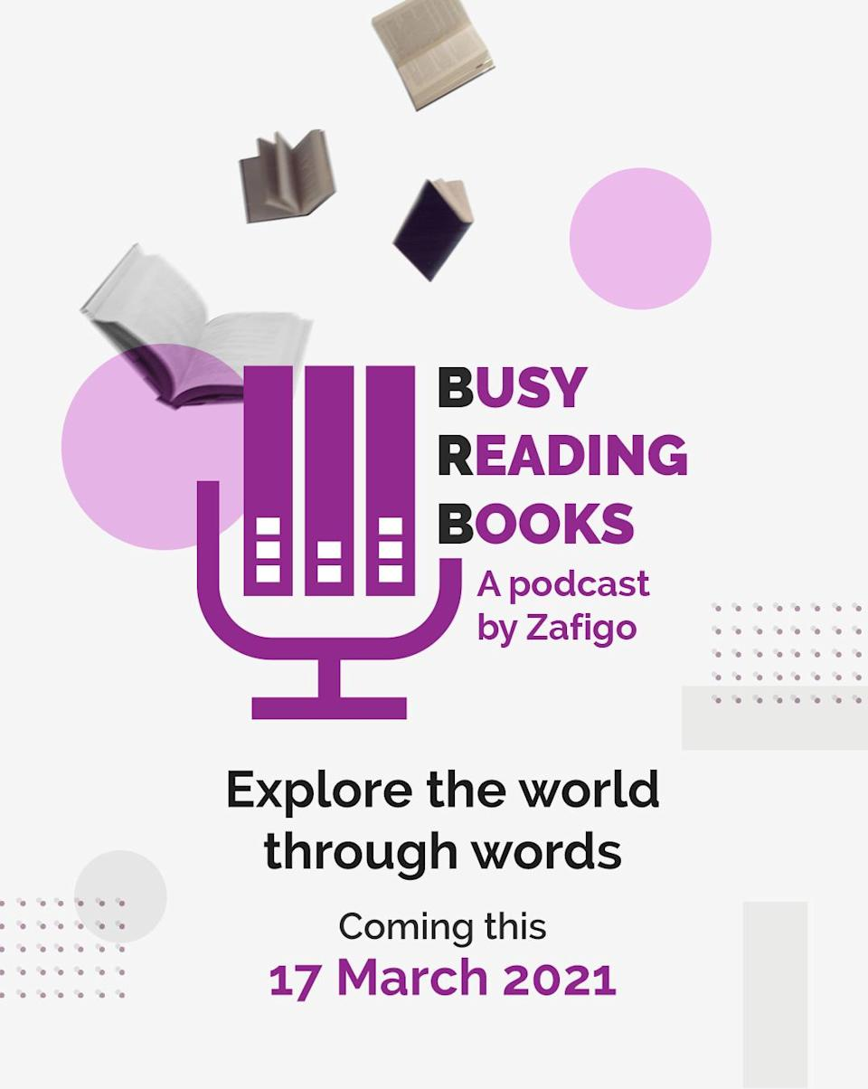 Time for some shelf-indulgence with our new book podcast – Busy Reading Books, a weekly series exploring the world through words, hosted by Marina Mahathir.